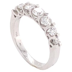 Seven White Diamonds Engagement Ring