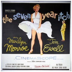 Seven Year Itch, The (1955) Poster