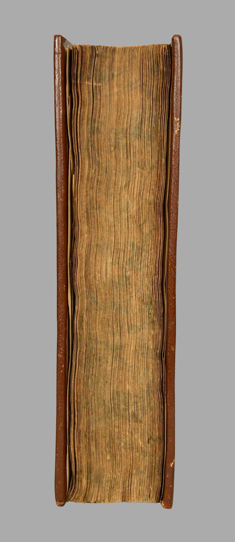 Seventeenth Century Original Leatherbound Book The Tryal of Thomas Strafford For Sale 7