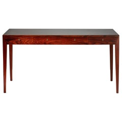 Severin Hansen 1950s Danish Rosewood Writing Desk