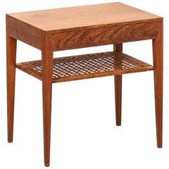 Severin Hansen Bedside Table by Haslev Møbelsnedkeri in Denmark