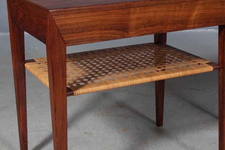 Danish Severin Hansen Bedside Tables by Haslev Møbelsnedkeri in Denmark