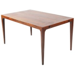 Severin Hansen Jr. Rosewood Dining Table for Haslev Mobelfabrik