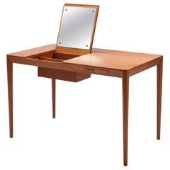 Severin Hansen Lady's Desk & Dressing Table by Haslev Denmark, 1958