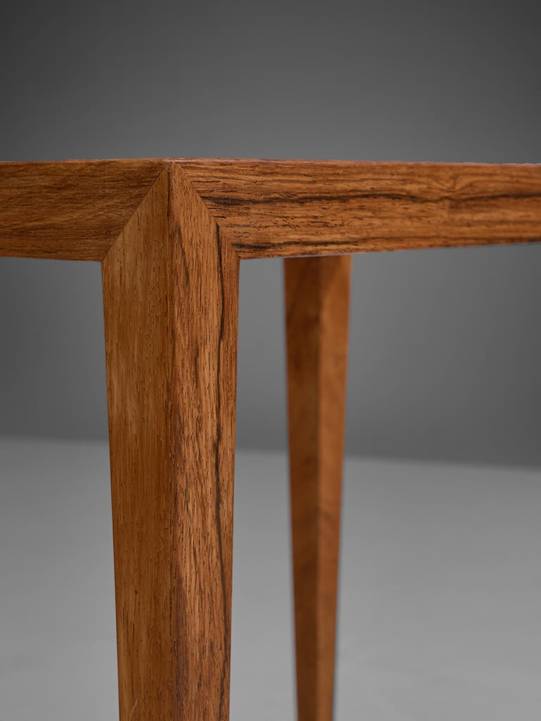 Severin Hansen Nesting Tables in Rosewood, 1950s For Sale 2