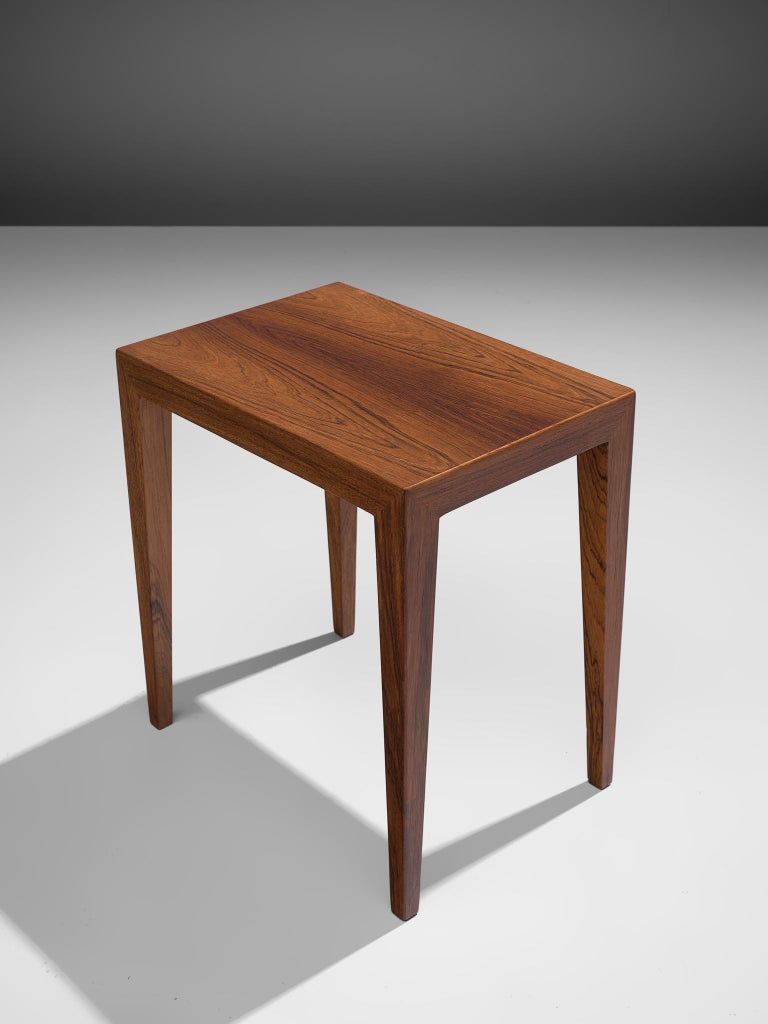 Severin Hansen Nesting Tables in Rosewood, 1950s For Sale 3