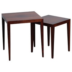 Severin Hansen Nesting Tables in Rosewood