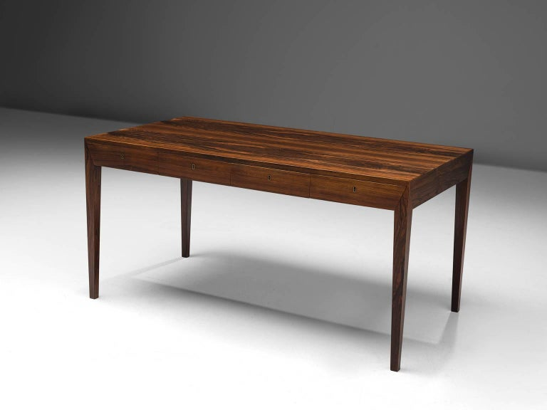 Desk by Severin Hansen Jr. for Haslev, Denmark, 1960s.
