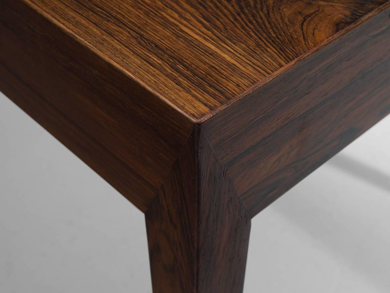 Mid-20th Century Severin Hansen Rosewood Desk by Haslev For Sale