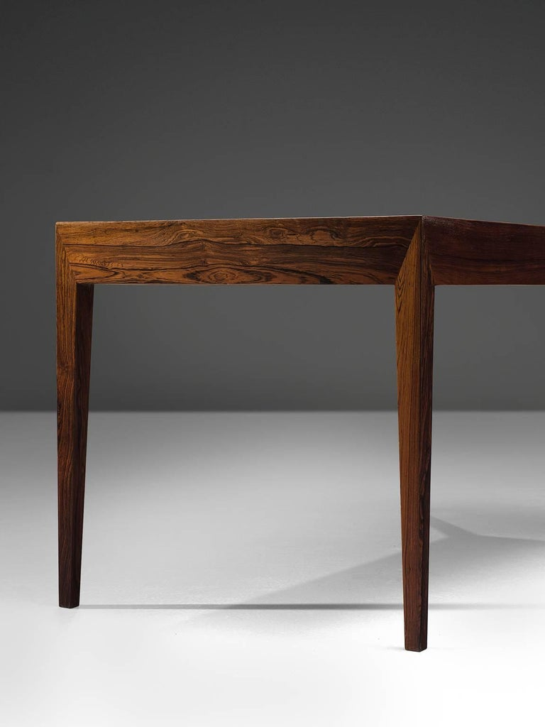 Severin Hansen Rosewood Desk by Haslev For Sale 1