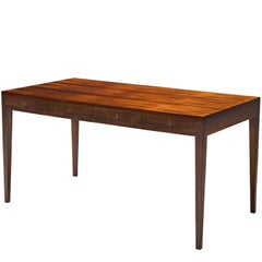 Severin Hansen Rosewood Desk by Haslev
