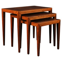 Severin Hansen Rosewood Nesting Tables