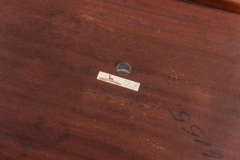 Severin Hansen Rosewood Side Tables for Haslev For Sale 1