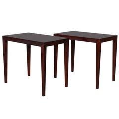 Severin Hansen Set of Side Tables / Bed Side Tables