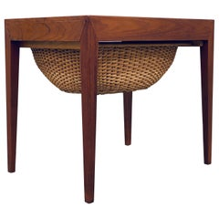 Severin Hansen Side Table by Haslev Møbelsnedkeri, Denmark, 1960s