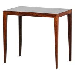 Severin Hansen Side Table in Rosewood, Scandinavian