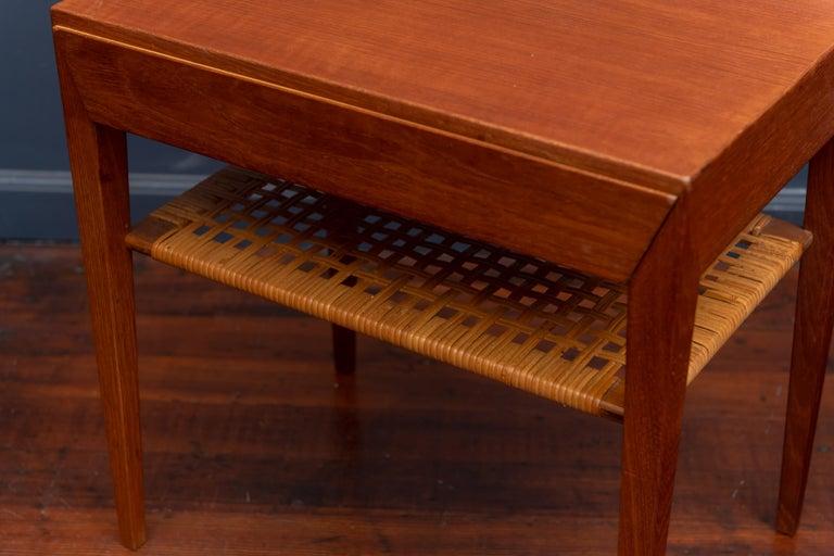 Severin Hansen Teak Bedside Tables for Haslev For Sale 1