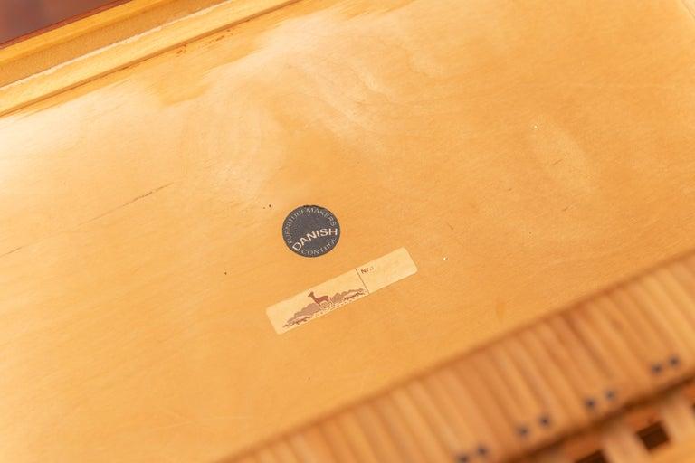 Severin Hansen Teak Bedside Tables for Haslev For Sale 2