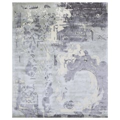 Hand Knotted - wool and silk - Sevigne Organdi, Edition Bougainville
