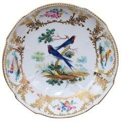 Sevres Dish, Thomas Martin Randall Decoration, circa 1840