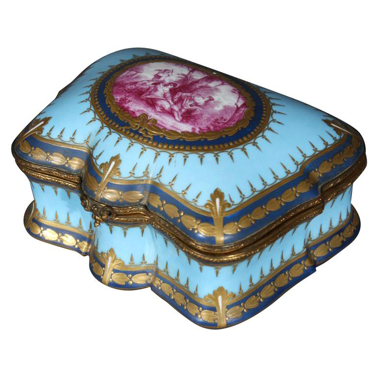Sevres Painted Box