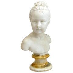 Sevres Porcelain Bust, after Houdon