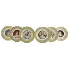 Sèvres Porcelain Dishes, 19th Century, France