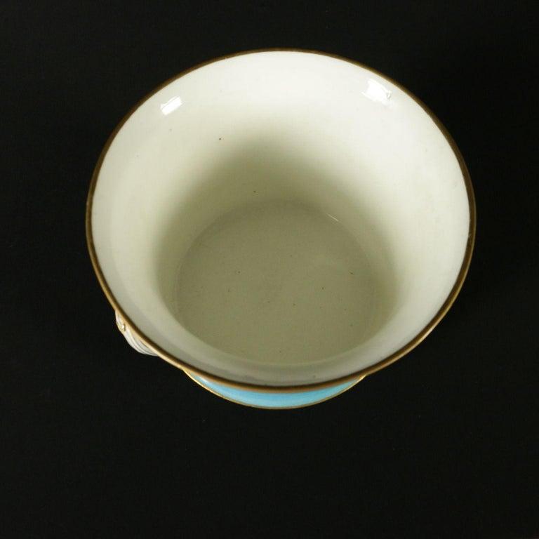 Other Sèvres Vase Gold and Porcelain, France, 18th Century For Sale