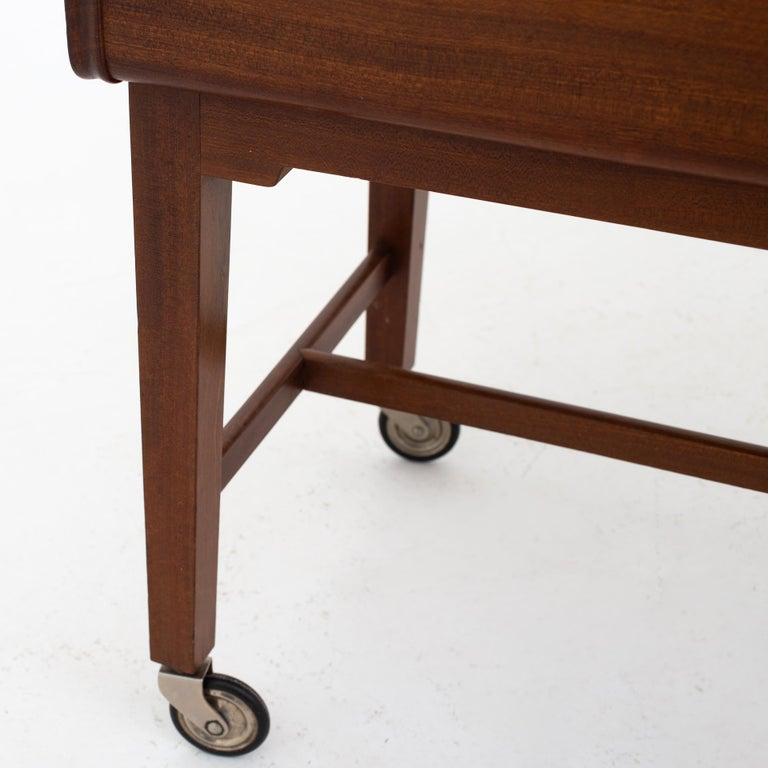 Danish Sewing Table by Ludvig Pontoppidan