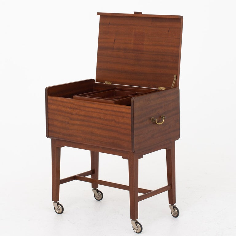 20th Century Sewing Table by Ludvig Pontoppidan