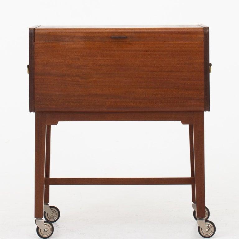 Mahogany Sewing Table by Ludvig Pontoppidan