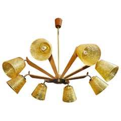 Sexy 1950's Chandelier from Sweden