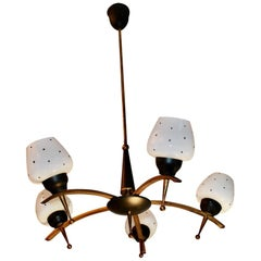 Sexy 1950s French Chandelier