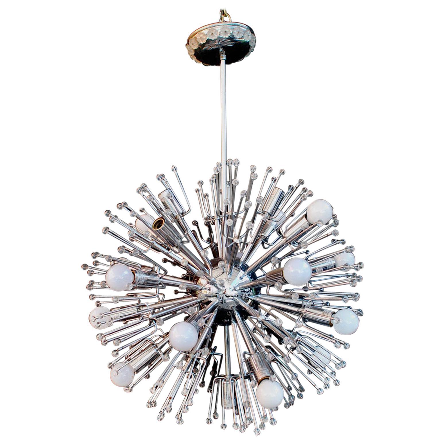 Sexy 1960's Sputnik Light by Emil Stejnar