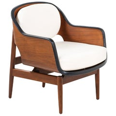 Seymour J. Wiener Bentwood Lounge Chair for Kodawood
