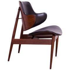 Seymour J. Wiener Walnut Lounge Chair for Kodawood