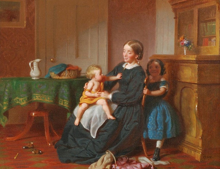 In the latter half of the nineteenth century and into the first decade of the twentieth, New York City art aficionados could count on finding recent work of Seymour Joseph Guy hanging on the walls of the city's major galleries. Primarily a genre