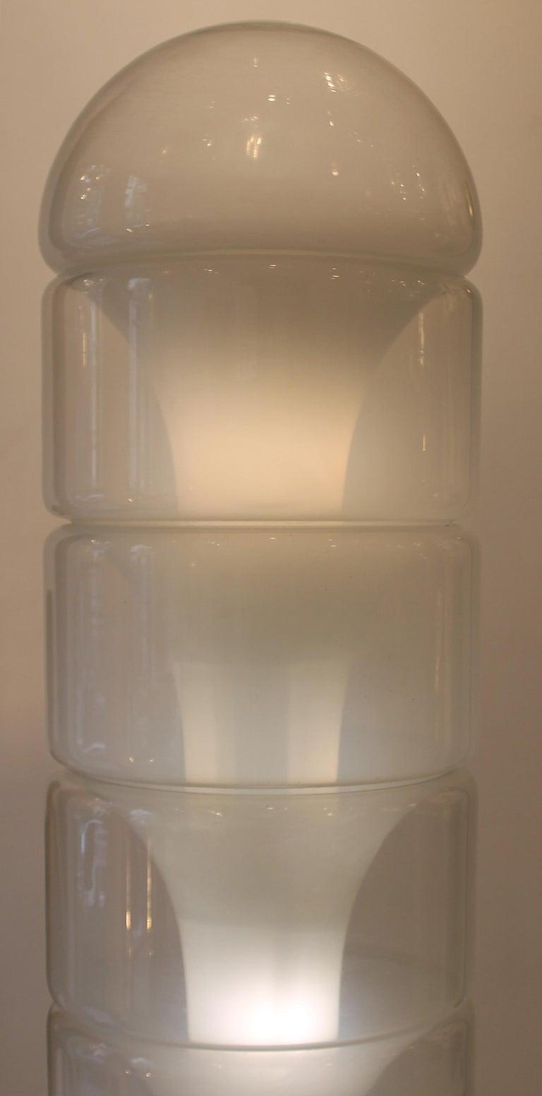 Sfumato Floor Lamp Model LT316 by Carlo Nason for Mazzega.