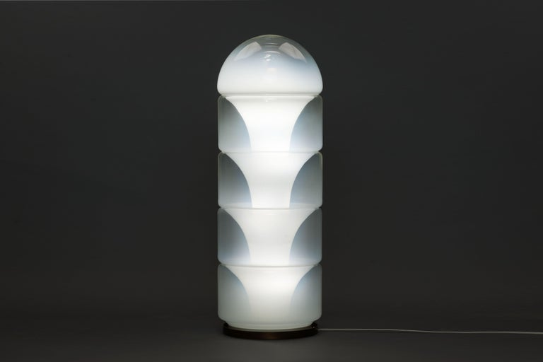 Murano Glass Sfumato Lamp by Carlo Nason for Mazzega Murano, 1968 For Sale