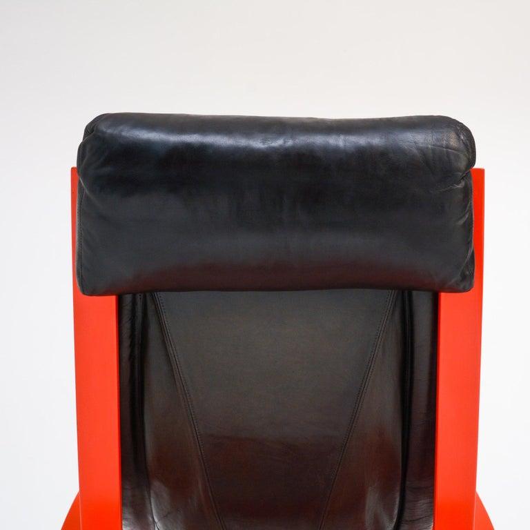 Sgarsul Rocking Chair by Gae Aulenti for Poltronova For Sale 8