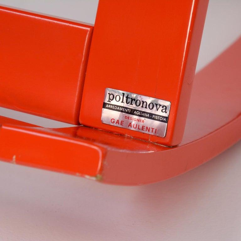 Sgarsul Rocking Chair by Gae Aulenti for Poltronova For Sale 13