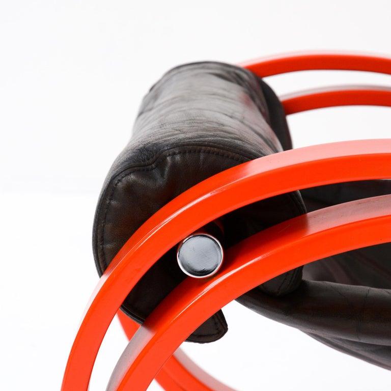 Sgarsul Rocking Chair by Gae Aulenti for Poltronova For Sale 1