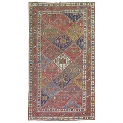 Shabby Chic Persian Colorful Tribal Accent Size Rug