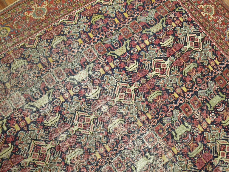 Malayer Shabby Chic Persian For Sale