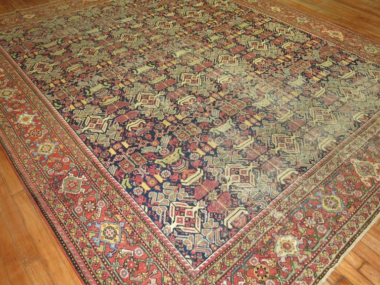 Shabby Chic Persian In Distressed Condition For Sale In New York, NY