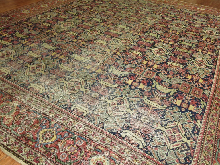 Wool Shabby Chic Persian For Sale