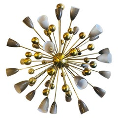 Shades Sputnik Chandelier by Fabio Ltd