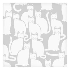 Shadowcat Designer Wallpaper in Heather 'Grey and White'