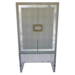 Shagreen Bar Cabinet