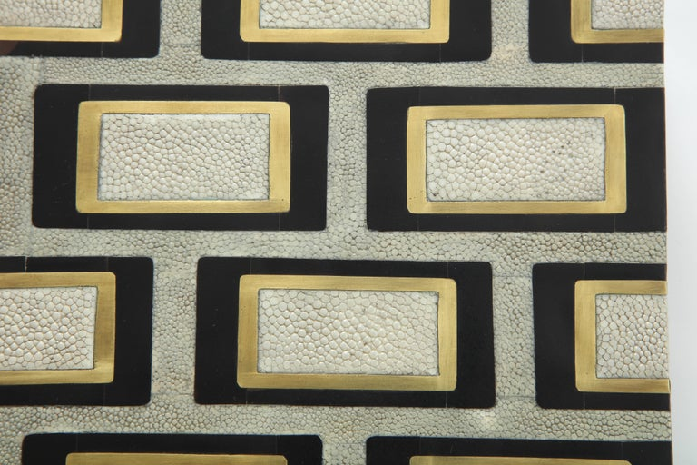 Contemporary Shagreen Box Offered by Area ID For Sale